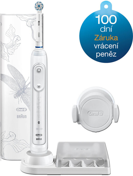 Oral-B Genius 10000, White Dragonfly