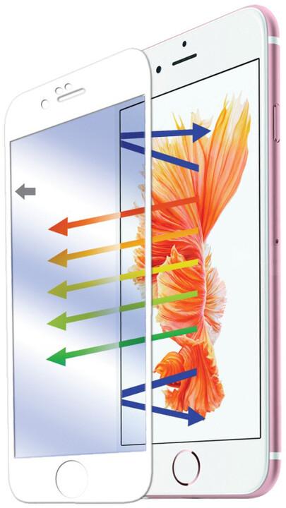 CELLY ochranné tvrzené sklo Glass pro Apple iPhone 6/6S Plus - bílá