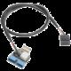 Akasa AK-CBUB38-40BK, interní MB adaptér USB3.1/USB3.1(19pin)