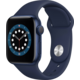 Apple Watch Series 6, 40mm, Blue, Deep Navy Sport Band