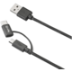 CELLY USB kabel s konektorem microUSB - USB typu C