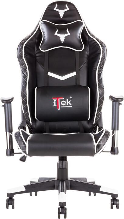 iTek TAURUS E1, černá/bílá
