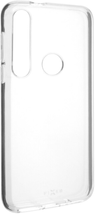 FIXED gelové pouzdro pro Motorola Moto G8 Plus, čirá