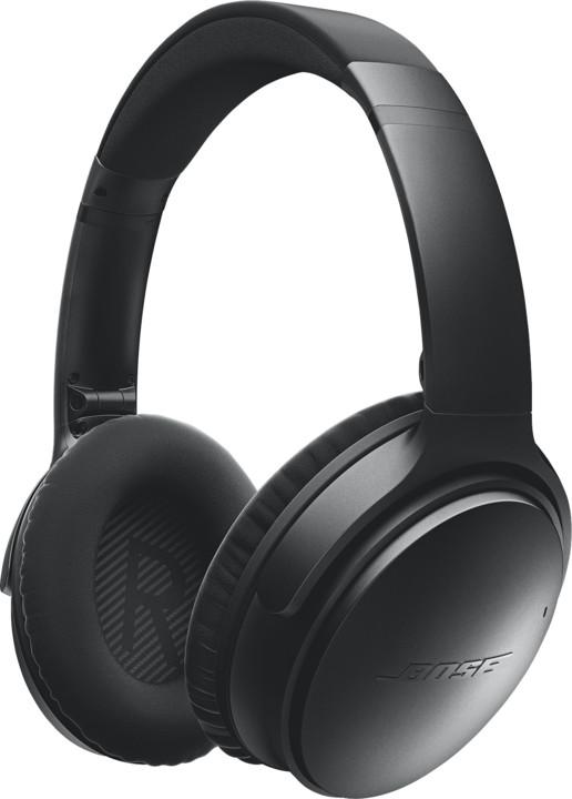 Bose QuietComfort 35 wireless, černá