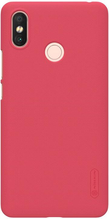 Nillkin Super Frosted zadní kryt pro Xiaomi Mi Max 3, červený