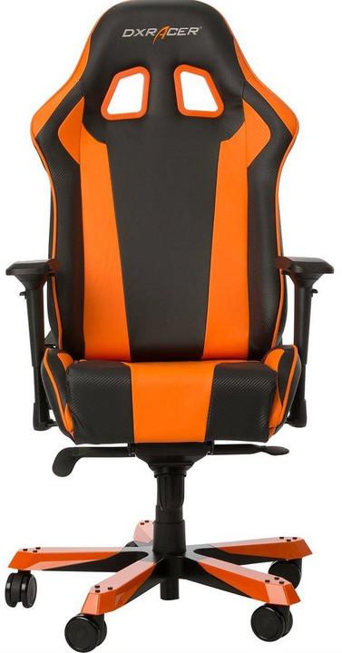 DXRacer King OH/KS06/NO, černá/oranžová