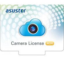ASUSTOR další licence pro 4x IP kamery - elektronická OFF - License(4 Channels)