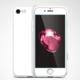 Spigen Air Fit 360 pro iPhone 7, bílá