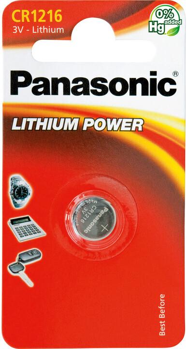Panasonic baterie CR-1216 1BP Li