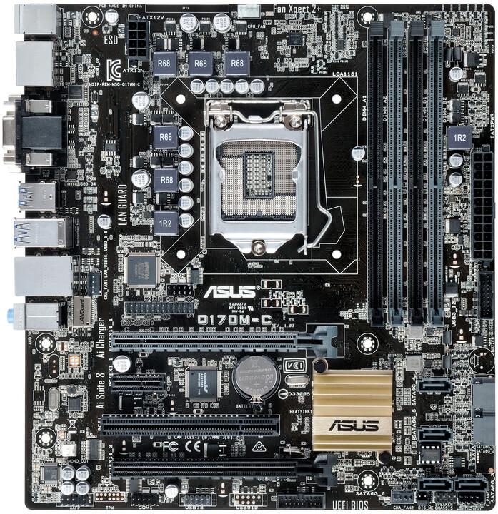 ASUS Q170M-C - Intel Q170