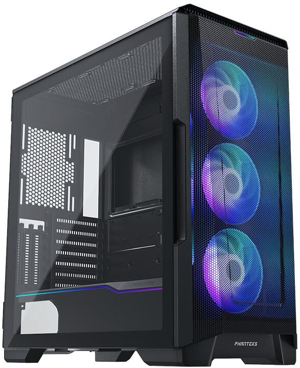 PHANTEKS Eclipse P500A DRGB, TG, černá