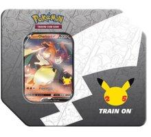 Karetní hra Pokémon TCG: Celebrations Lance's Charizard V Large Tin
