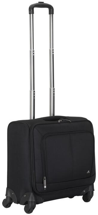 RivaCase 8481 cestovní kufr na kolečkách 20l, černá