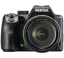 Pentax K-70, černá + DA 18-135mm WR - 16255