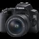 Canon EOS 250D + 18-55mm f/3.5-5.6 DC III Získejte zpět 1 300 Kč po registraci + Poukaz na kurz focení - Canon Akademie