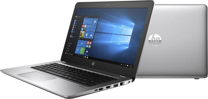 HP ProBook 440 G4, stříbrná