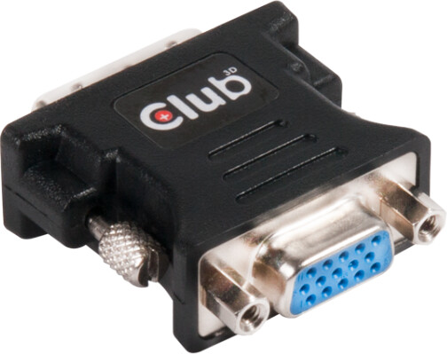 Club3D DVI- I Single Link na VGA ( D-SUB), pasivní adaptér