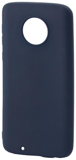 EPICO Pružný plastový kryt pro Lenovo Moto G6 SILK MATT, tmavě modrý