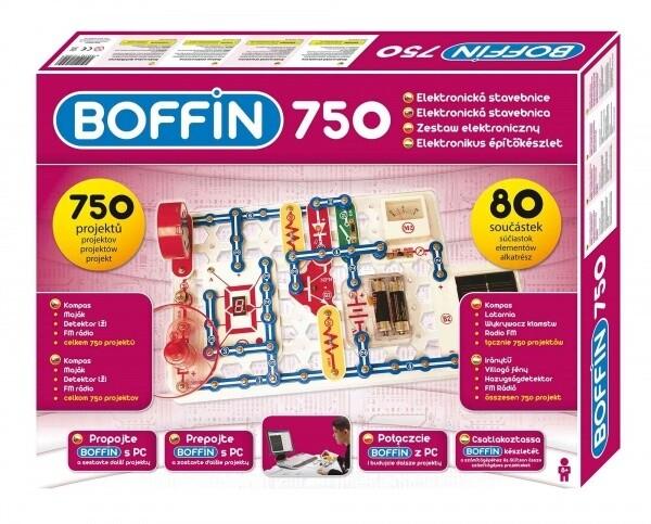 Stavebnice Boffin I 750, elektronická