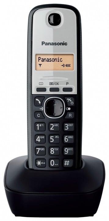 Panasonic DECT KX-TG1911FXG, šedá