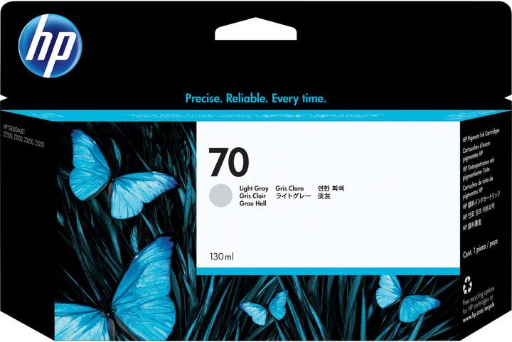 HP C9451A náplň č.70, světle šedá