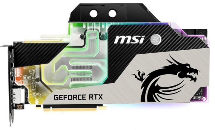 MSI GeForce RTX 2080Ti SEA HAWK EK X, 11GB GDDR6