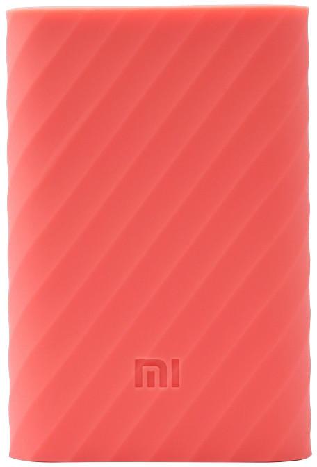 Xiaomi silikonové pouzdro pro Xiaomi Power Bank 10000 mAh, růžová