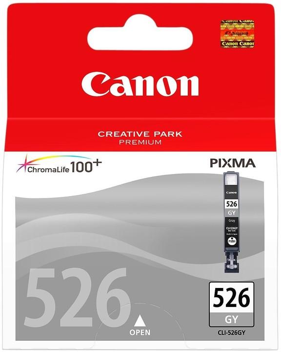 Canon CLI-526GY, šedá