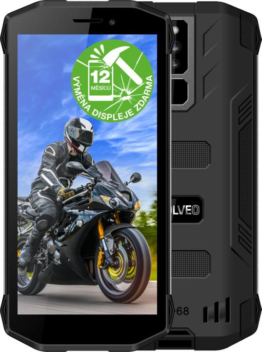 Evolveo StrongPhone G5, 2GB/16GB, Black