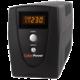 CyberPower Green Value UPS 1000VA/550W LCD  + Voucher až na 3 měsíce HBO GO jako dárek (max 1 ks na objednávku)