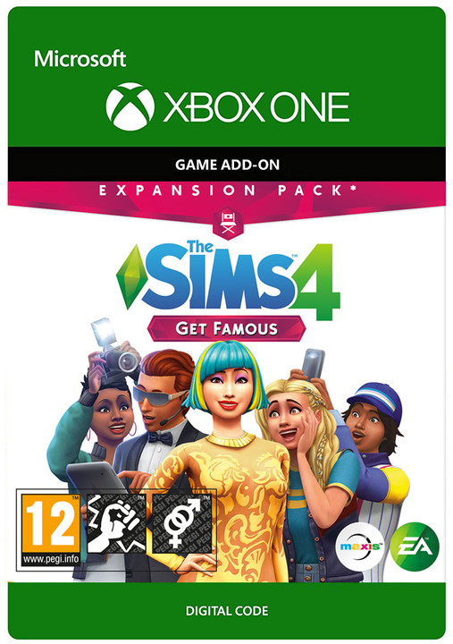 The Sims 4: Get Famous (Xbox ONE) - elektronicky
