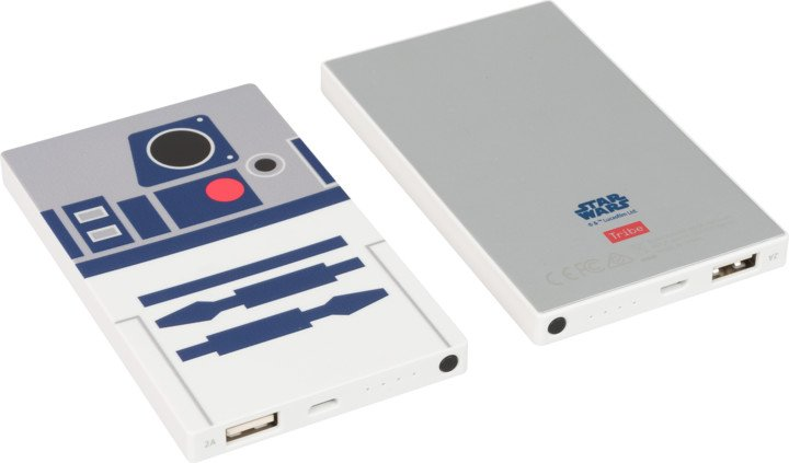 Tribe Star Wars R2D2 4000mAh Power Bank - Bílá