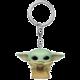 Klíčenka Funko POP! Star Wars: The Mandalorian - The Child with Cup