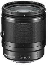 Nikon objektiv Nikkor 10-100 mm F4-5.6 VR 1, černá