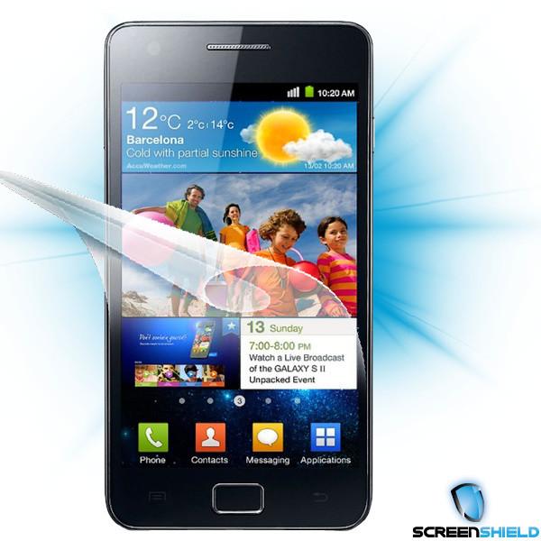 Screenshield fólie na displej pro Samsung Galaxy S II (i9100)