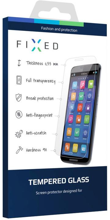 FIXED ochranné tvrzené sklo pro Samsung Galaxy J1, 0.33 mm(2015)