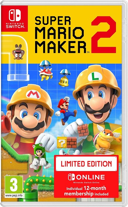 Super Mario Maker 2 - Limited Edition (SWITCH)