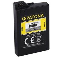 PATONA baterie pro herní konzoli Sony PSP 2000/PSP 3000 Portable, 1200mAh, Li-lon, 3,7V - PT6524