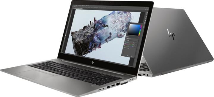 HP ZBook 15u G6, stříbrná