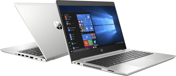 HP ProBook 455 G6, stříbrná