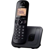 Panasonic KX-TGC210FXB, černá