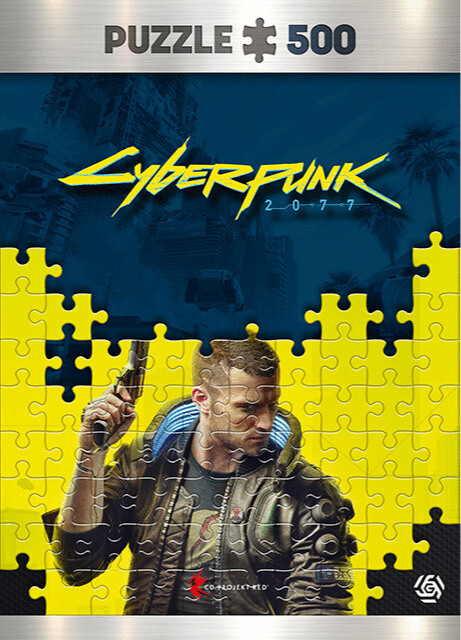 Puzzle Cyberpunk 2077 - Keyart Male V (Good Loot)