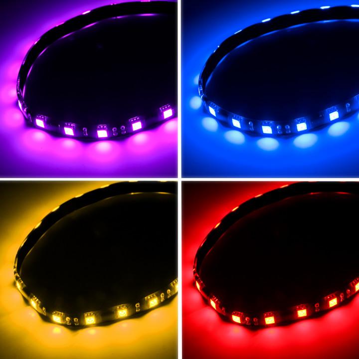 BITFENIX ALCHEMY 2.0 magnetická RGB-LED páska 30cm, 15 LED + ovladač