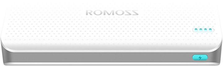 ROMOSS sense 15, 15000 mAh, bílá