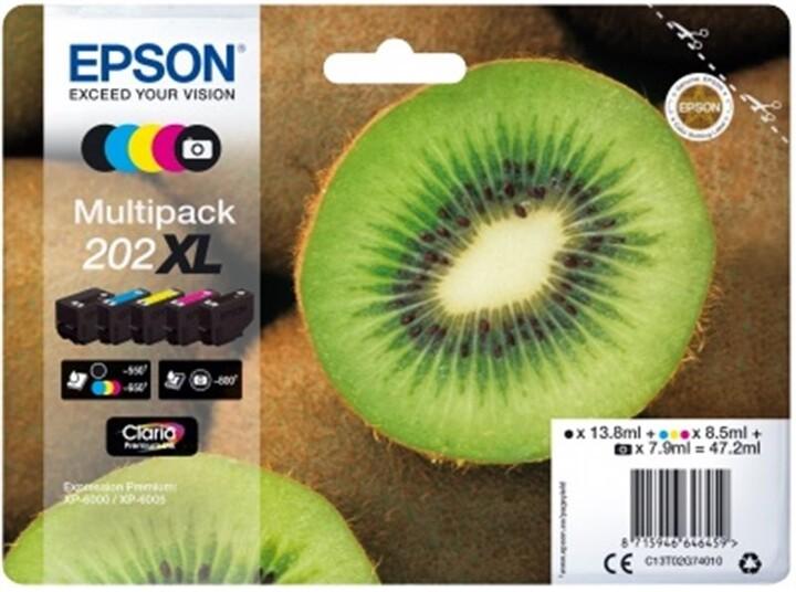 Epson C13T02G74010, 202XL claria multipack