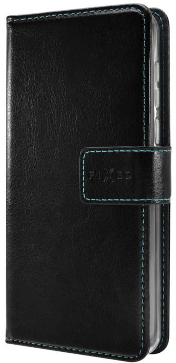 FIXED Opus pouzdro typu kniha pro Honor 9, černé