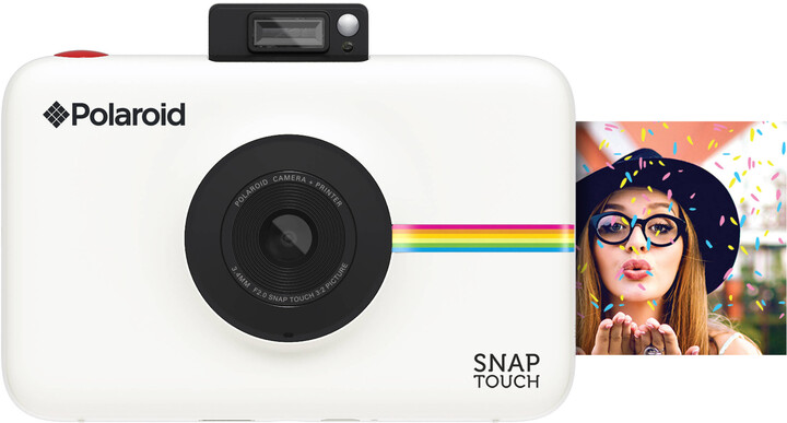 Polaroid SNAP TOUCH Instant Digital, bílá