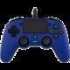 Nacon Wired Compact Controller, modrý (PS4)  + Voucher až na 3 měsíce HBO GO jako dárek (max 1 ks na objednávku)