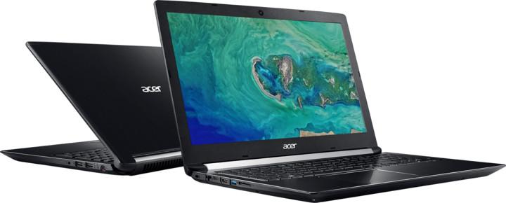 Acer Aspire 7 kovový (A715-72G-57XZ), černá