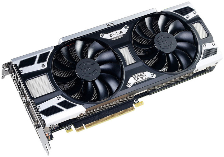 EVGA GeForce GTX 1070 SC2 GAMING iCX, 8GB GDDR5